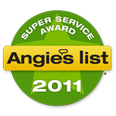 Angies List 2011 Award