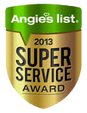 Angies list 2013 Award